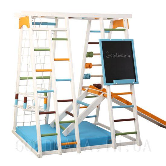 Детский спортивный комплекс с доской для рисования_gm