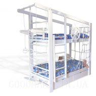 Двухъярусная спортивная кровать