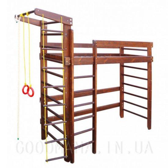 Спортивная кровать-чердак