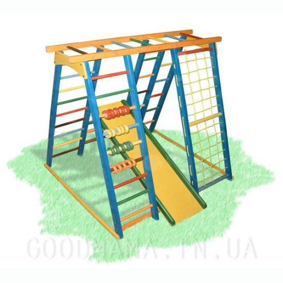 Детский спортивный комплекс для улицы со счетами