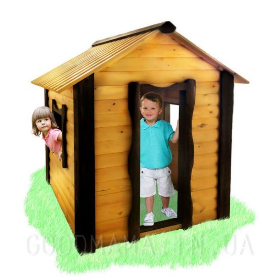 Детский домик для улицы