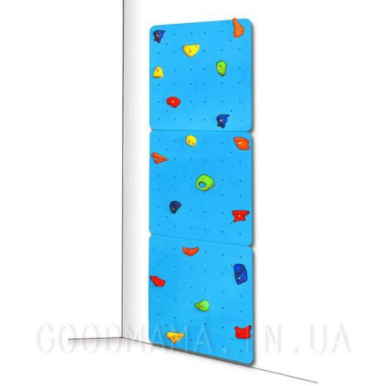 Скалодром детский синий