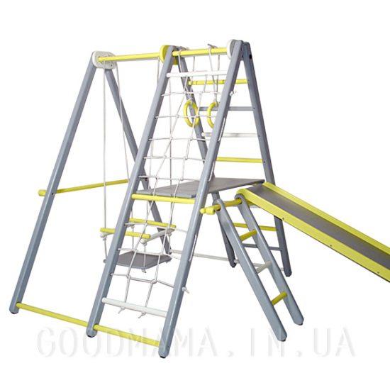 Раскладной спортивно-игровой комплекс из бука 130 см