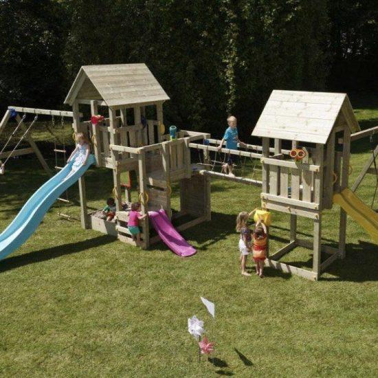 Большая детская игровая площадка КИДПАРК
