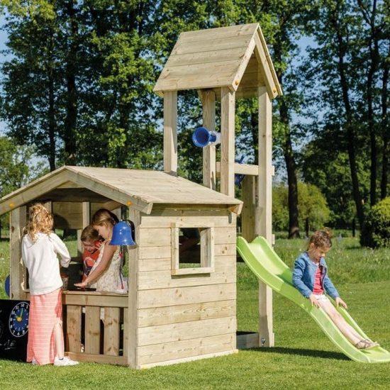 Детская игровая башня с домиком LOOKOUT