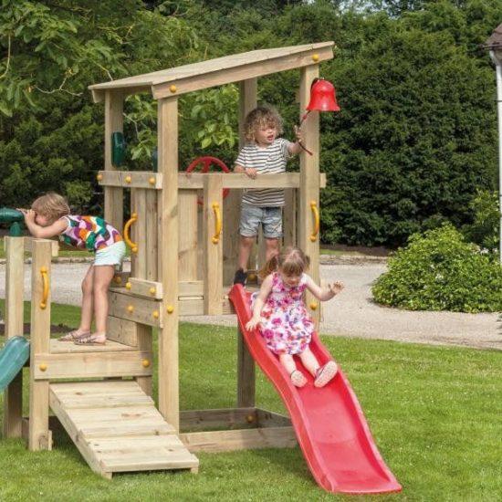 Детская игровая площадка КАСКАД с 2 горками