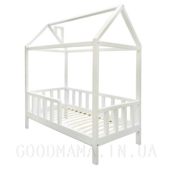 кровать домик детская из дерева