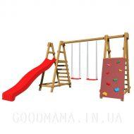 Детская игровая площадка с горкой
