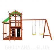 Детский игровой домик с маркизой для улиц