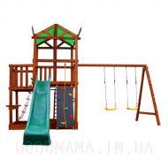 Детский игровой домик с верандой