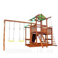 Детский игровой домик с верандой и маркизой